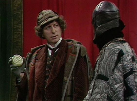 Fourth doctor who tom baker dressed as sherlock holmes the