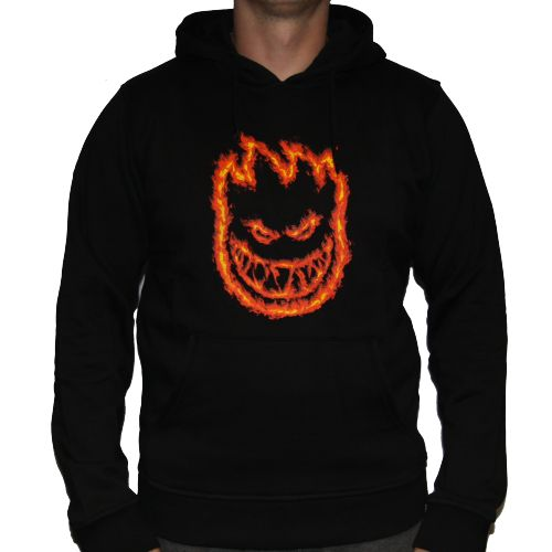 Dickies Spitfire Collab Charred Hoodie - Black | Skate Hoodies ...
