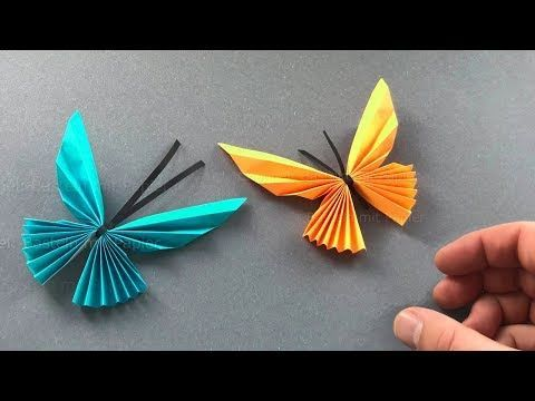 Origami Yoshizawa Butterfly - YouTube | 360x480