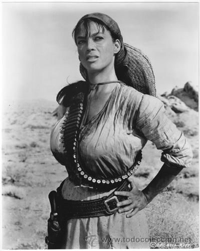 THE PROFESSIONALS (1966) - Marie Gomez as bandit girl 'Chiquita' -