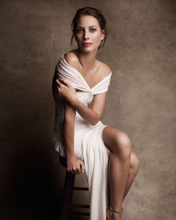 Harper S Bazaar Fashion White Drappe Dress Jersey Stool