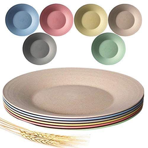 wheat straw plates melamine dishes