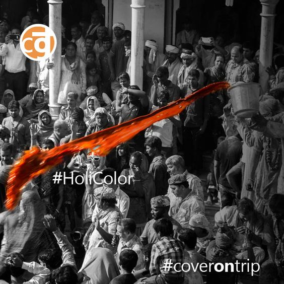 #HoliColor en #Coverontrip ¡Amor y Color!