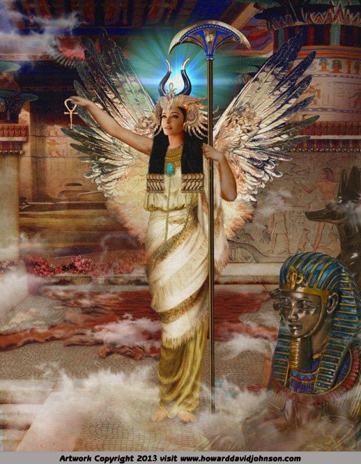 Goddess Isis, be your powerful self in true courage and compassion ... and become magical.