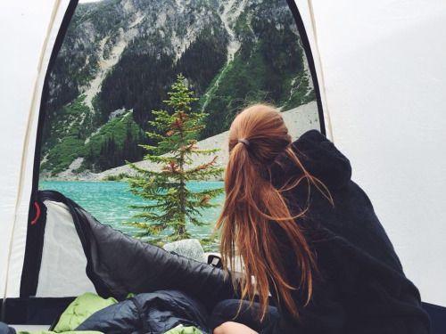 Resultado de imagen de acampar jovenes tumblr