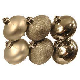 Onion Ornament in Silver (Set of 6)