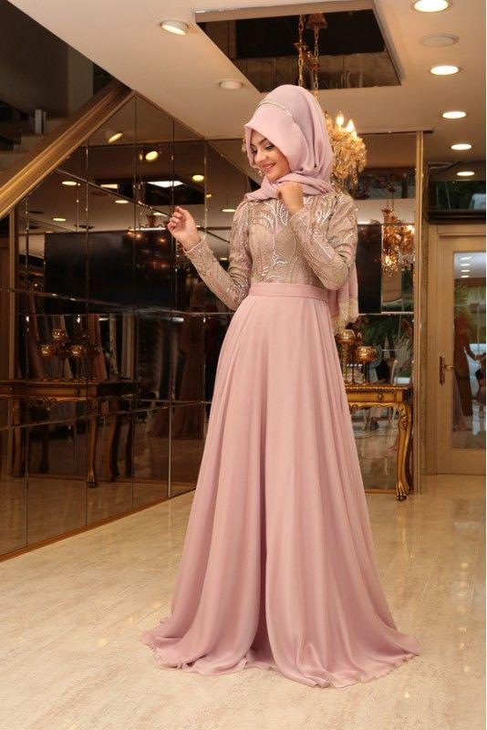 Sik Pinar Sems Tesettur Abiye Modelleri Resmi Elbise Balo Elbiseleri Moda Stilleri