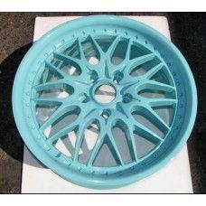 Tiffany Blue Powder Coated Rims http://www.thepowdercoatstore.com/powder-coating-powder/tiffany-blue-powder-coat