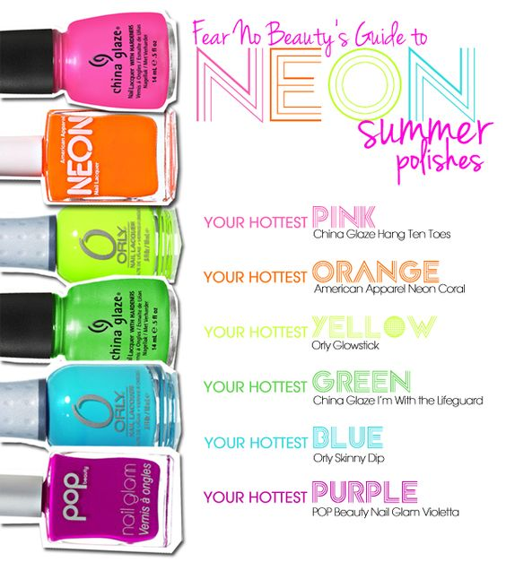 Kari shares her insights on neon nail color trends!
