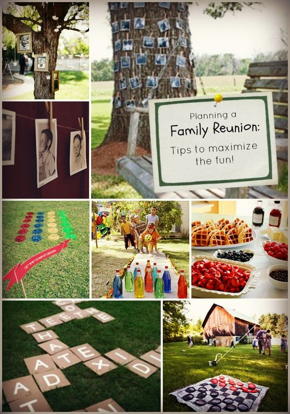 Are you responsible for planning your family reunion this year? Read these tips and tricks to help make sure you've got the basics covered - food, family, fun and festivities. #Snappening