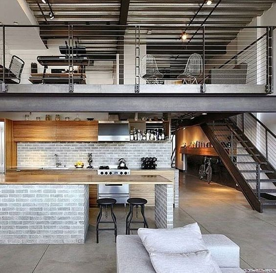 City style loft apartment