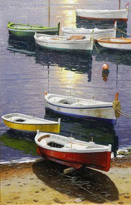 Pintura Moderna Y Fotografía Artística Paisajes Andaluces Al óleo Pinturas De Ramón Pujol En 2020 Paisajes Pintura Al Oleo Paisajes Pinturas