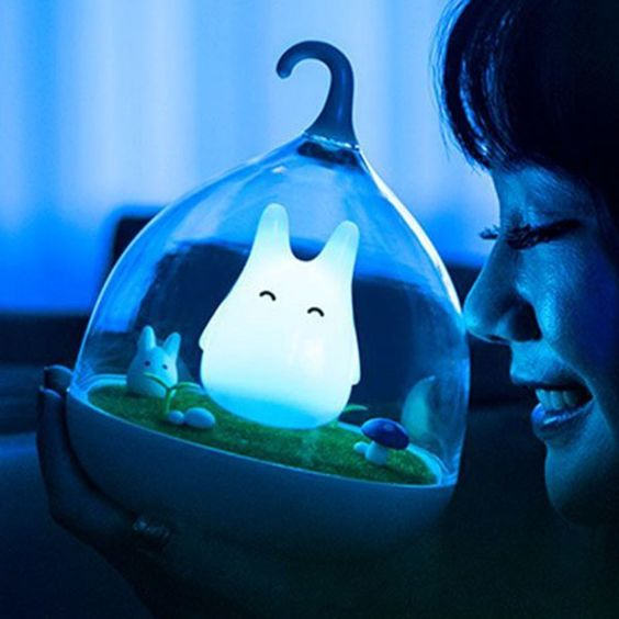 My Neighbor Totoro Night Light   $15.59      Experience the magical world of Studio Ghibli with the touch of a finger! These touch sensitive night lights are available in four vibrant colors and provide a convenient soft glow for Totoro fans afraid of the dark.