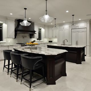 Explore Double Kitchen Islands Layout Countertops On Pinterest See Dining Furniture Makeover Furniture Makeover Inspiration Contemporary Dining Furniture