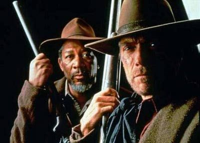 Unforgiven - Morgan Freeman & Clint Eastwood