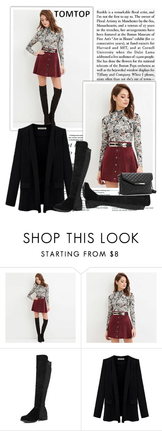 """""""TOMTOP+ 7"""" by lana-97 ❤ liked on Polyvore featuring tomtop and tomtopstyle"""