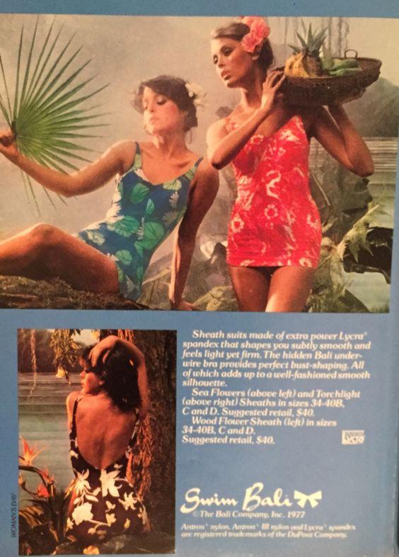 1978 Bali bathing suits