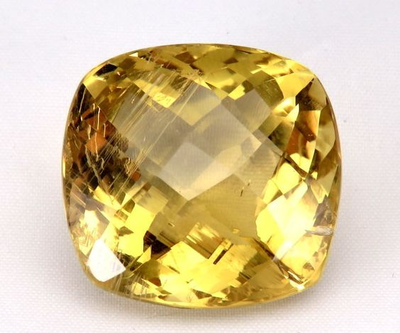 TOP BIG HELIODOR : 88,67 Ct Natürlicher Heliodor (Gold Beryll) aus Brasilien