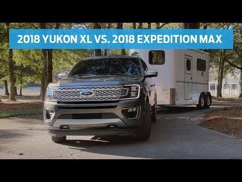 Compare 2018 Gmc Yukon Xl Vs 2018 Ford Expedition Max Head To