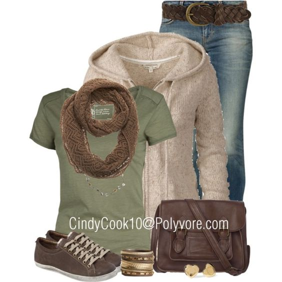"""My kind of colors and style. Love the whole look except the shoes. Comfy"""" Casual Outfit Set by Cindy Cook (cindycook10), via Polyvore."""