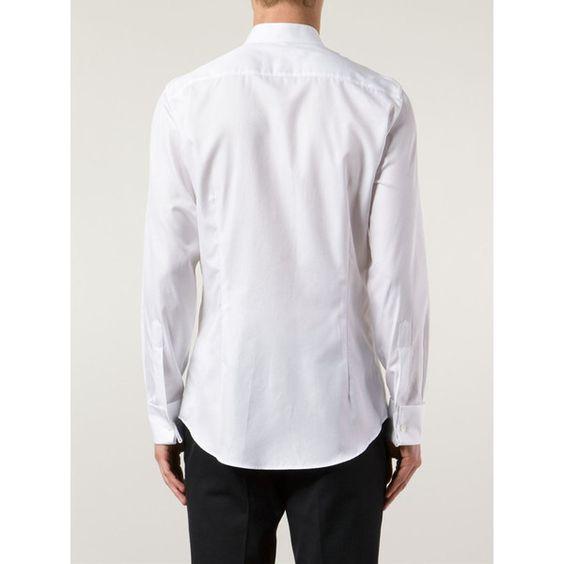 Vivienne Westwood | Kiss Print Tuxedo Shirt - Anastasia Boutique ($581) via Polyvore
