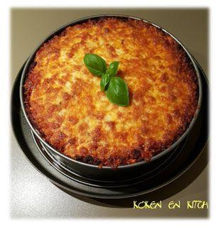 Koken en Kitch: Rigatoni taart