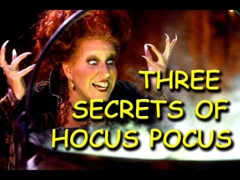 Three secrets of Hocus Pocus (1993)