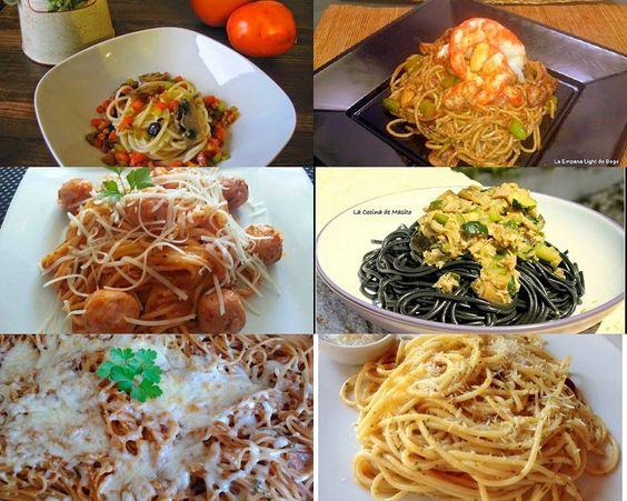 Nos encantan los espaguetis: 5 recetas de espagueti y 1 de fideos asiáticos | Cocinar en casa es facilisimo.com