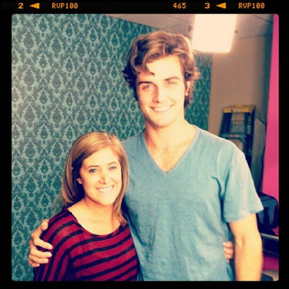 Lindsey with Beau Mirchoff