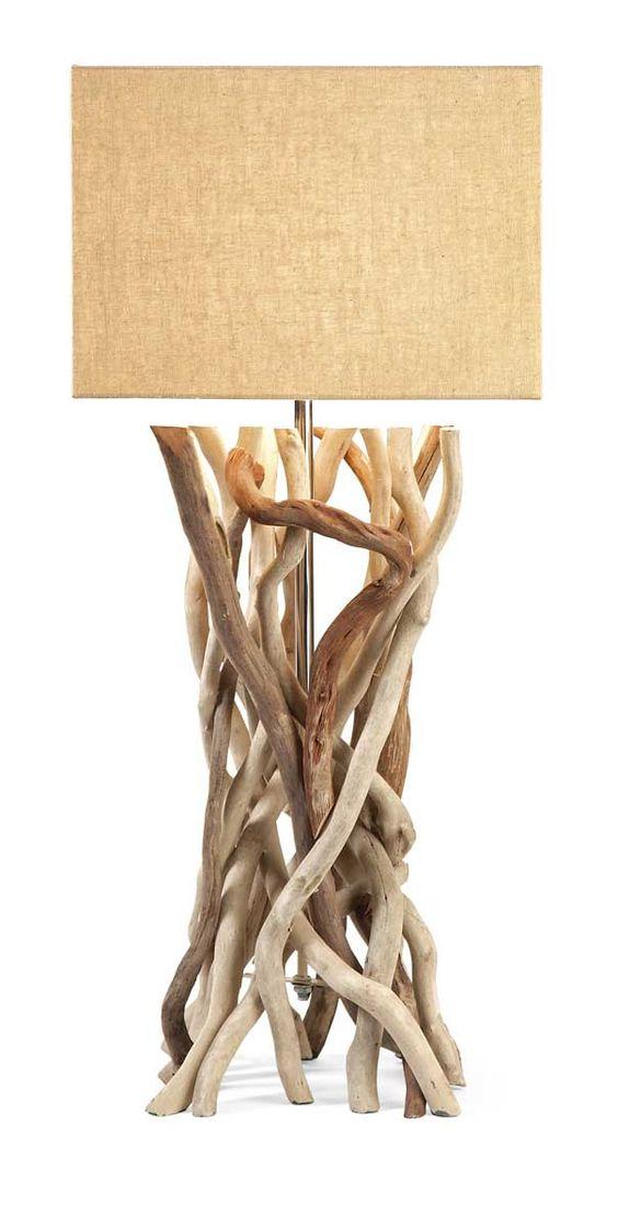 IMAX Explorer Drift Wood Table Lamp
