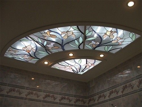 Gypsum Board False Ceiling Design With Stained Glass Windows A Comprehensive Guide To Installing Pop False Ceiling Design Stained Glass Panels Ceiling Design