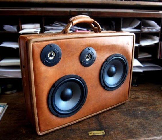 boombox suitcase