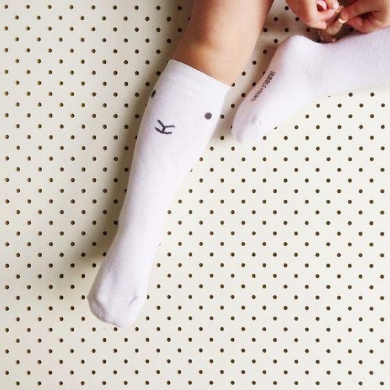 Image of NEW! 'Lamby' Knee High Socks: