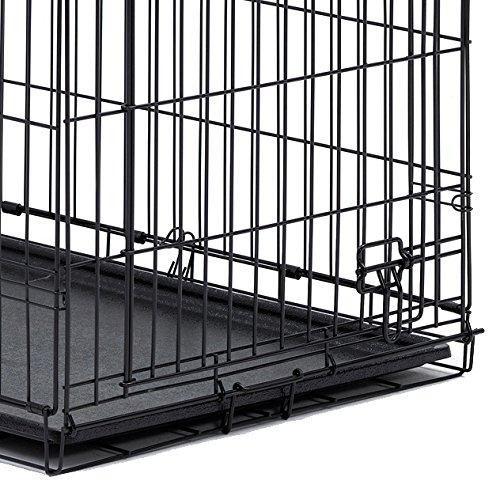 Brand Midwest Homes For Pets Color Single Door Features Single Door Folding Metal Dog Crate Icrate Measures 30l Midwest Dog Crates Dog Playpen Dog Crate