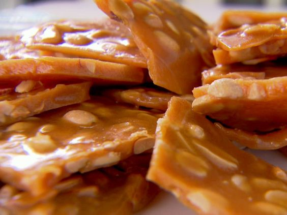 Trisha Yearwood's Peanut Brittle - easy recipe that makes a nice gift.: