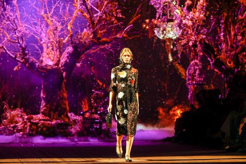 Dolce & Gabbana Fall 2014 Ready-to-Wear Collection on Style.com: Atmosphere