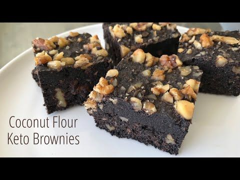 Coconut Flour Keto Brownies Youtube In 2020