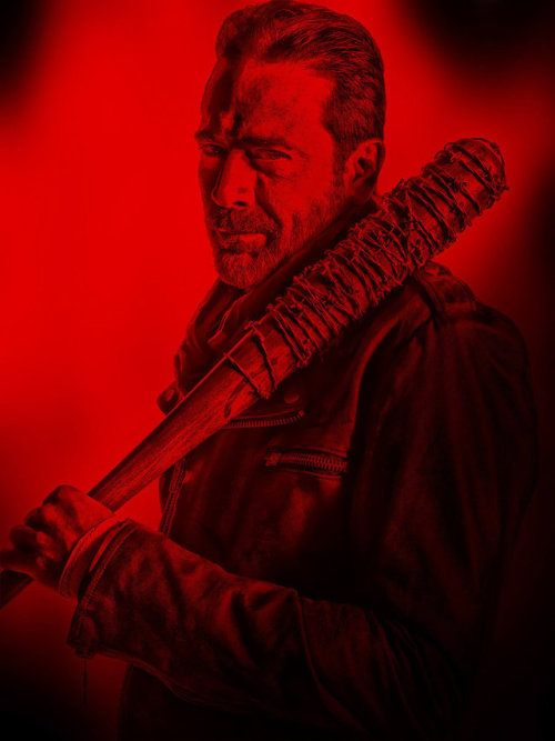Pixelated Nightmares The Walking Dead Negan By Vidmulia Negan Walking Dead Negan The Walking Dead