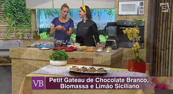 Chef Izabela Braga no programa Você Bonita, TV Gazeta, com receita de Petit Gateau.  #belanatv #dicasdabela #receitasdabela #bemnutrir #cozinhanutritiva #comidadeverdade #saudavelsemneura | Chef Izabela Braga - Insta: @chefizabelabraga
