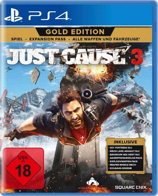 Just Cause 3 Gold Edition Playstation 4 Software Pyramide Videospiele Spiele Playstation