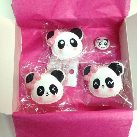 Squishy Tag Ideas : Mei Mei s Cafe Macaron Squishy Gift Set :-: KAWAII :-: Pinterest Products, Gifts and Gift sets