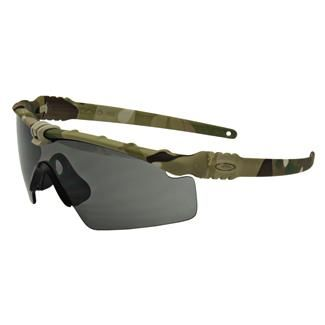 Oakley SI Ballistic M Frame 3.0.  I personally prefer to not camo everything I own, but other than that these are a solid frame to go with.  Simple frame, ballistic rated lense.  What else do you need?
