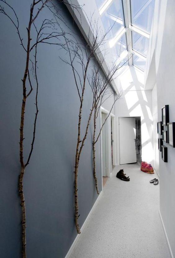 D co couloir long sombre troit 12 id es pour lui donner du style natur - Idee decoration couloir ...