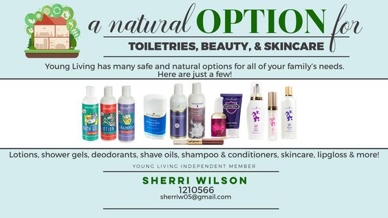 Natural Options for Toiletries & Beauty Products. http://www.essentialoilsworks.com/wp-login.php?redirect_to=http%3A%2F%2Fwww.essentialoilsworks.com%2Fwp-admin%2Fpost.php%3Fpost%3D1162%26action%3Dedit&reauth=1