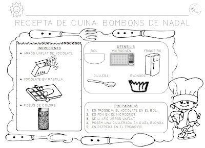 Taller de cocina bombones de navidad colegio cocina for Proyecto cocina infantil