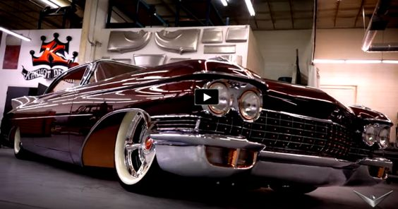 see the story of the 1960 copper caddy by kindig it designs american muscle cars and more. Black Bedroom Furniture Sets. Home Design Ideas