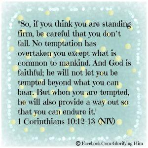 1 Cor 10:13 -
