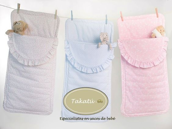 Sacos para capazo universales. www.takatu.es