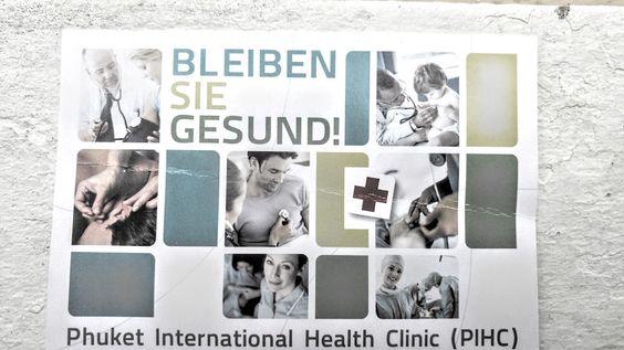 Deutsche Ärzte und Krankehäuser, in denen Deutsch gesprochen wird. Phuket International Health Clinic PIHC