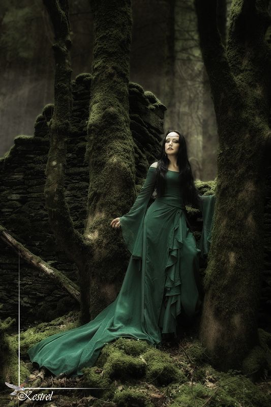 Lady of the Forest by Kestrel01.deviantart.com